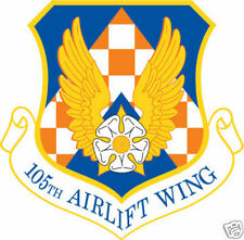 STICKER USAF 105TH AIR LIFT WING