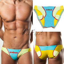 New Cheap Mens Swimming Swim briefs Sexy Swimwear Fit Low rise Bathing suit