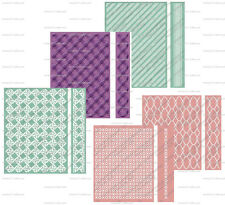 CUTTLEBUG A2 and 5X7 EMBOSSING FOLDERS and BOARDER BRAND NEW!