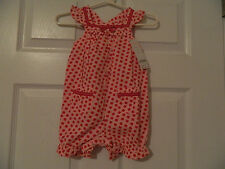*NWT* GYMBOREE One Piece Romper Sizes 3-6, 6-12, or 18-24 Months (RETAIL $32.95)