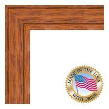 """1 1/2"""" Honey Stain on Red Oak- New - Ready To Hang"""