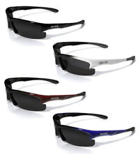 Maxx X-Ray3 Smoke POLARIZED Black Red Blue White Sunglasses