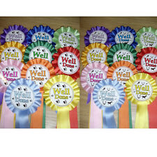 Dog/equestrian Show ' Well Done' Rosettes
