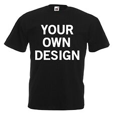 SCHOOL UNIFORM LOGO PERSONALISED T-SHIRT OWN DESIGN