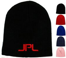 JPL Embroidered Skull Cap - Available 5 Colors - Beanie jet propulsion lab