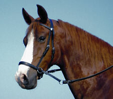 THE BITLESS BRIDLE by DR. ROBERT COOK WESTERN LEATHER w/ REINS (Choose Sz/Color)