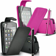 ★★ NEW FLIP PU LEATHER CASE COVER POUCH FOR NEW MAJOR MOBILE PHONES