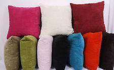 "Large 24""x 24""  Super Soft Chenille Stripe Cushions (complete with pad)"