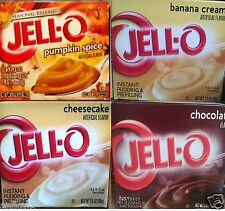 Jell-O Instant Pudding & Pie Filling Mix ( 4 Pack ) Holiday Seasonal ~ Pick One