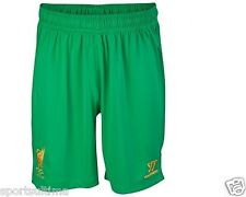 WARRIOR LIVERPOOL GOALKEEPER HOME SHORTS KIDS 2012/13 100% AUTHENTIC
