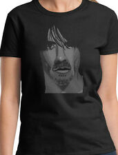 ANTHONY KIEDIS LADIES MUSIC T SHIRT RED HOT CHILI PEPPERS NEW TOP GIFT W42
