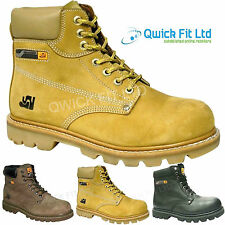 MENS WALKLANDER SAFETY WORK BOOTS STEEL TOE CAP ANKLE BOOTS SHOES TRAINERS SIZES