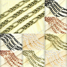 BIG+SMALL Curb Unfinished Chains/link wholesale Size Color U Choose JACH0125.126