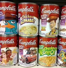 Campbell's Condensed Pasta Shapes with Chicken Soup ( 3 Cans ) ~ Pick One
