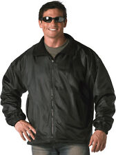 Black Nylon Polar Fleece Reversible Tactical Military Jacket