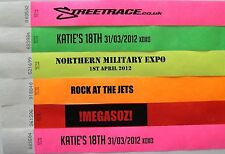 Printed Wristbands Party,Event,Festival,tyvek,Paper Wrist Bands/Tags,Bracelets