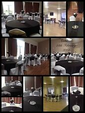 Wedding Chair Cover and Sash hire in Warwickshire, Coventry, Leicestershire plus