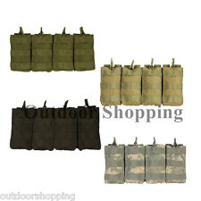 TACTICAL MOLLE MODULAR 120 ROUND QUICK DEPLOY POUCH - Mag/Ammo, 6.25 x 13 x 1""