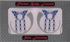 INTIMATE NON PIERCING NIPPLE BUTTERFLY BODY JEWELRY COVERS VAJAZZLE PASTIES