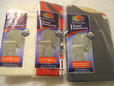 NEW Boys Fruit of the Loom Thermal Underwear Set Extra Soft Thermal Knit