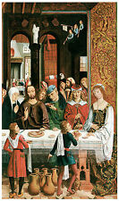The Marriage at Cana, c. 1495-97, - Life of JESUS Art