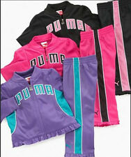 * NWT NEW GIRLS PUMA Tricot JACKET PANTS WINTER OUTFIT SET 12M 18M 24M