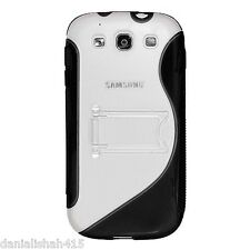 TPU Protection Case Cover Skin With Kick Stand for Samsung Galaxy S3 SIII
