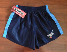 STEEDEN NRL RUGBY LEAGUE SHORTS STORM BLUES TIGERS 100% POLYESTER