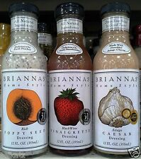 Briannas' Home Style Special Request Salad Dressing Dip Sauce Marinade ~Pick One