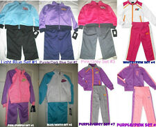 * NWT NEW GIRLS NIKE JACKET Tricot TRACKSUIT WINTER OUTFIT SET 3T 4 5 6 6x