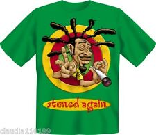 FUN SHIRT - T-SHIRT - STONED AGAIN - GR S-M-L-XL-XXL ; NEUWARE