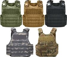 Military MOLLE Tactical Plate Carrier Assault Vest