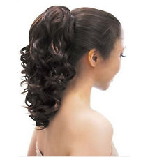Model Model Glance Drawstring PonyTail Synthetic Various Wavy Curly Long Style
