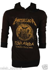 NWT Gold Metallica James Hetfield Lars Ulrich Kill 'Em All Hoodie Jumper S,M,L
