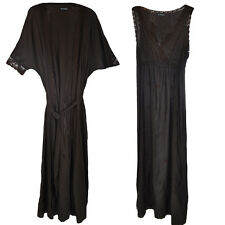 M&S Nightdress & Dressing Gown Set Marks & Spencer Embroidered Nightie & Robe