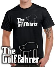 Fun T-SHIRT THE GOLFFAHRER MK1 Golf Tuning 1er Treffen Gti RETRO KULT vw SATIRE