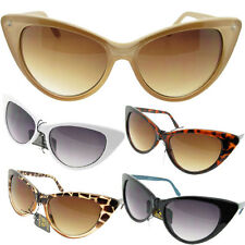 Big Oversized Womens Cat Eye Sunglasses