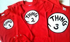 DR. SEUSS THING ONE 1 2 3 4 5 6 T SHIRT ADULT / YOUTH / INFANT THING 1 SHIRT