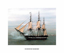"""USS Constitution """"Old Ironsides"""" - Art on Canvas"""