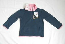 BNWT Official *Hello Kitty* Navy Blue Fleece Top. Age 3-4, 5-6 or 7-8 Years.