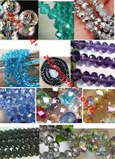 HOT sell ~Wholesale New 12 Colors Swarovski Crystal Loose Beads 4x6mm /6x8mm