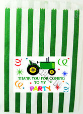 10 TRACTOR PARTY, CAKE, SWEET, LOOT, GOODY BAGS Ref 01NWJ