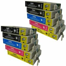 10 Generic Replacements for Epson T1295 Printer Ink Cartridges. UK VAT Invoice.