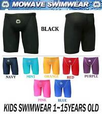 Mowave kids junior swim wear suit jammer competition half pants 1~15years old