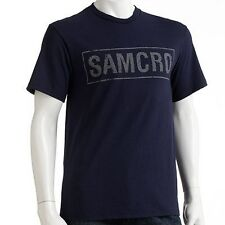 Sons of Anarchy SAMCRO TEE - SOA T Shirt MOTORCYCLE CLUB REDWOOD ORIGINAL Jax