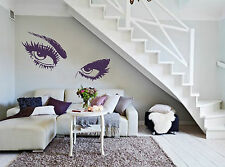 GIANT EYES LARGE SEXY EYES Wall or Window Vinyl - Wall Art - Decal Sticker