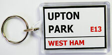 Upton Park Sign Key Ring West Ham Keyring Top Quality Brand New in 2 Sizes