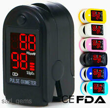 New OXIMETER FINGER PULSE  BLOOD OXYGEN SpO2 MONITOR   First Class Delivery