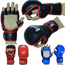 BOOM Pro MMA Sparring Gloves,Muay Thai Kick Boxing Punch Bag Training Bag Glove
