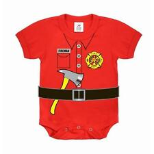 Infant Bodysuit - Firefighter One Piece, Red by Rothco
